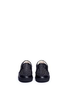 AKID KIDS Liv儿童款锥形铆钉真皮便鞋