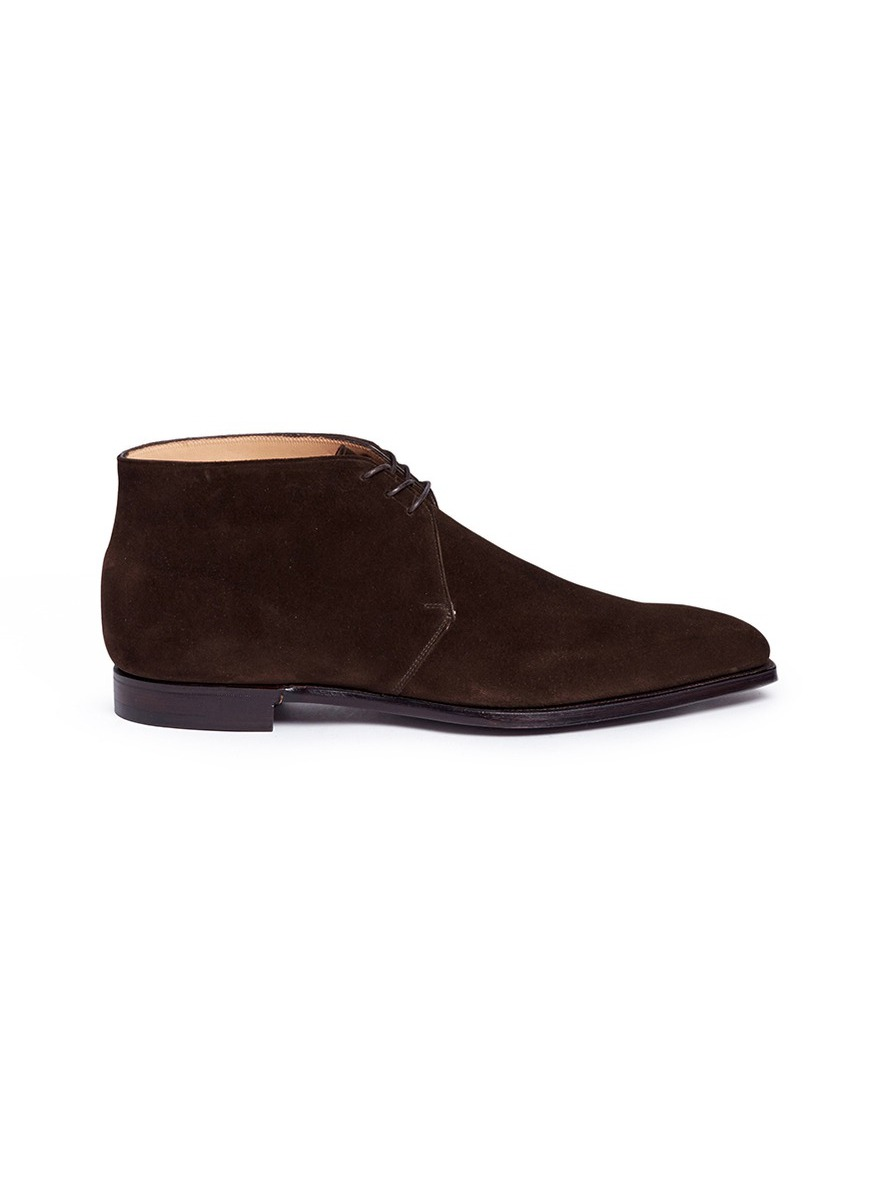 Orange 100% Original Online Black Nathan Pebble-Grain Leather Chukka Boots George Cleverley Sale Visit New 8uxgOEbt