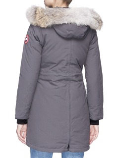 Canada Goose 'Rossclair' coyote fur hooded down padded parka