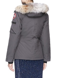 Canada Goose 'Montebello' coyote fur trim hooded down padded parka