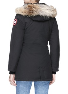 Canada Goose 'Victoria' coyote fur hooded down padded parka