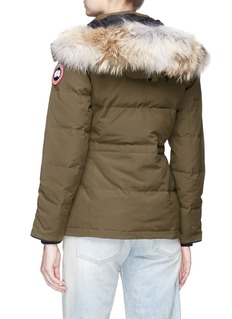 Canada Goose 'Chelsea' coyote fur hooded down puffer parka