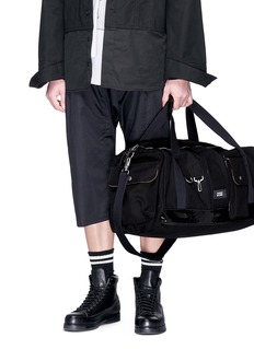 Eastpak x Raf Simons canvas duffle bag