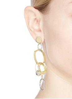 MOUNSER Detachable charm drop mismatched earrings