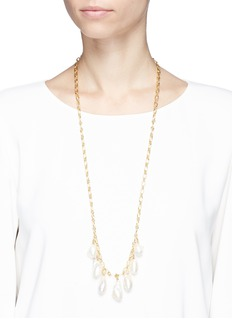 MOUNSER 'Pagoda Fruit Baroque Pearl' necklace