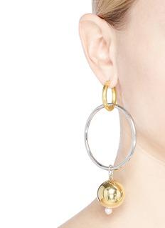 MOUNSER 'Solstice' detachable charm drop mismatched earrings