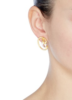 Charlotte Chesnais 'Ego' small curved single earring