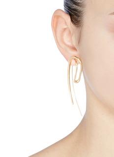 Charlotte Chesnais 'Initial' hook single earring