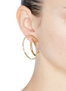 Charlotte Chesnais 'Ego' large curved single earring