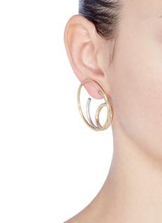 Charlotte Chesnais 'Ricoche' large hoop earrings