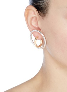 Charlotte Chesnais 'Saturn' large hoop earrings