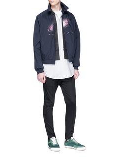 Johnundercover 'Cosmicpsylence' print harrington jacket