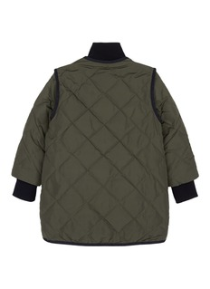 Comme Moi Quilted kids down puffer jacket