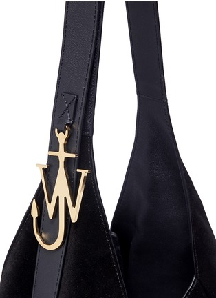 - JW Anderson - 'Knot' suede hobo bag