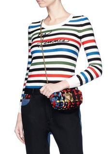 Sonia Rykiel 'Le Copain' tweed crossbody bag
