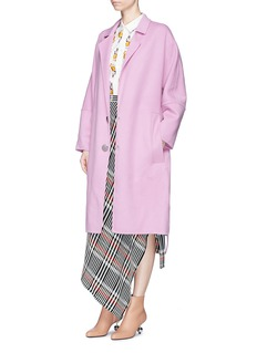 Marni Oversized virgin wool blend melton coat