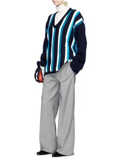 Marni Stripe oversized virgin wool sweater