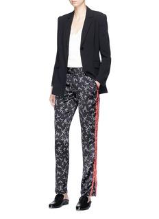 Equipment 'Florence' floral print silk satin pants