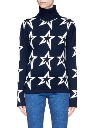 Main View - Click To Enlarge - Perfect Moment - 'Star Dust' extra fine Merino wool turtleneck sweater
