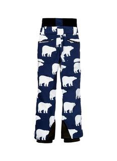 Perfect Moment 'Chamonix' polar bear print kids ski pants