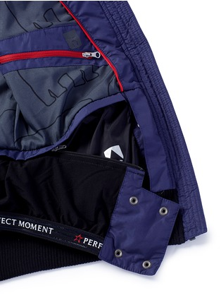 Detail View - Click To Enlarge - Perfect Moment - 'Cordon' colourblock down puffer jacket