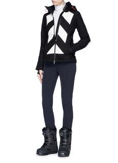 Perfect Moment 'Tignes' colourblock stripe ski jacket