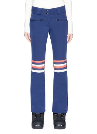Main View - Click To Enlarge - Perfect Moment - 'Aurora' rainbow stripe ski pants