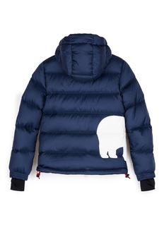 Perfect Moment 'Super Mojo' polar bear print kids down puffer jacket