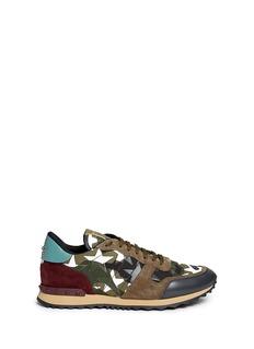 Valentino'Camustars Rockrunner' embellished sneakers