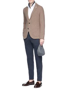 Lardini Knit soft blazer