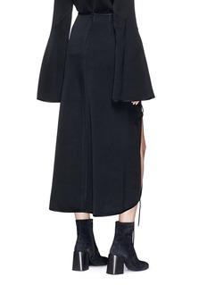 Ellery Side slit pencil skirt