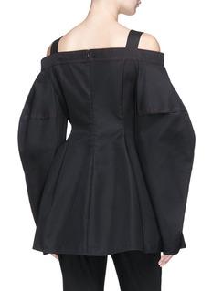 Ellery 'Sugar' cocoon sleeve off-shoulder top