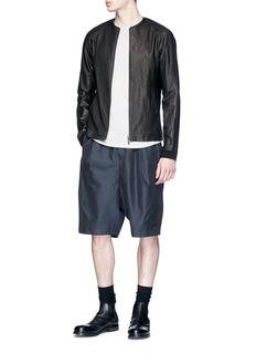 DEVOA Silk-cotton shorts