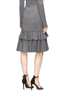 Tome Ruffle jersey mermaid skirt
