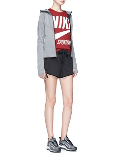 Nike Swoosh logo print T-shirt