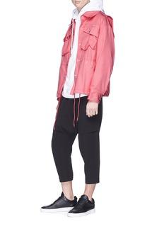 Feng Chen Wang Raw cotton blend denim jacket