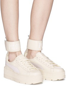 Puma Anklelet leather platform sneakers