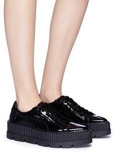 FENTY PUMA by Rihanna Patent leather platform sneakers
