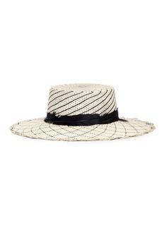 Sensi Studio Feather panama straw hat