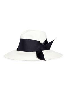 Sensi Studio Ribbon panama straw hat