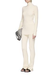 Stella McCartneyChunky rib knit pants