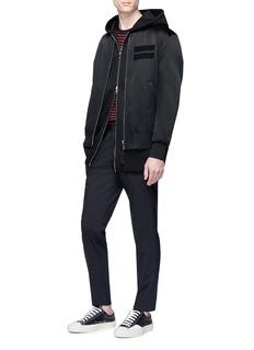 Neil Barrett Two-in-one bomber jacket and sleeveless vest