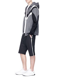 Neil Barrett Satin outseam sweat shorts