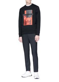 Neil Barrett Photographic print sweatshirt