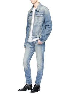 Helmut Lang 'Mr. 87' bleached jeans