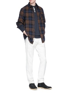 rag & bone 'Fit 3 Base' check plaid herringbone shirt
