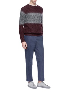 Theory 'Alcone RM' ombré Merino wool sweater