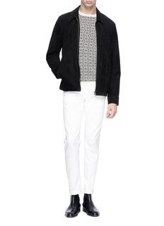 Theory 'Degars C' Fair Isle jacquard cashmere sweater