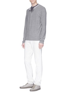 James Perse Micro stripe long sleeve T-shirt