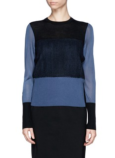 RAG & BONE'Marissa' Colourblock Sweater